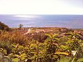Malibu, California looking at the Pacific Ocean from Pepperdine University.jpg
