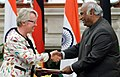 Mallikarjun Kharge and the Federal Republic of Germany's Minister of Education and Research.jpg
