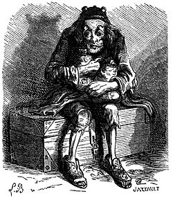 Caption=Mammon from Collin de Plancy's Dictionnaire Infernal