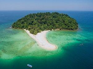 Manukan island boat