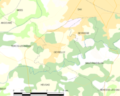 Map commune FR insee code 40207.png