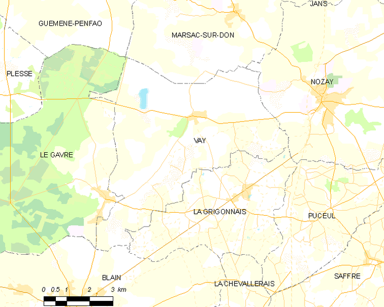 Fil:Map commune FR insee code 44214.png