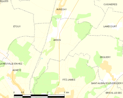 Map commune FR insee code 60008.png