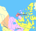 Map indicating Banks Island, Northwest Territories, Canada.png