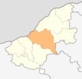 Map of Ivanovo municipality (Ruse Province).png