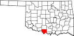 State map highlighting Jefferson County