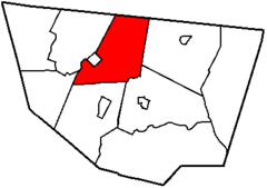 Map of Sullivan County Pennsylvania Highlighting Forks Township.png
