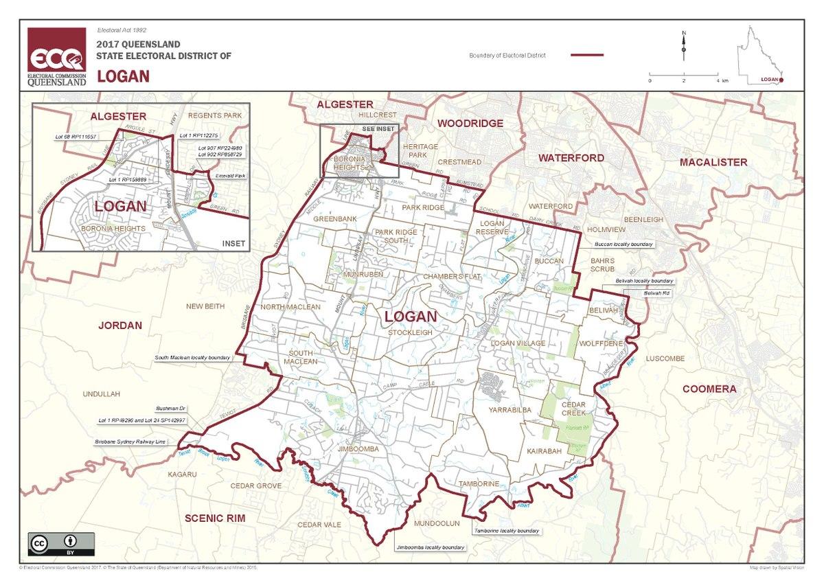 Electoral district of Logan