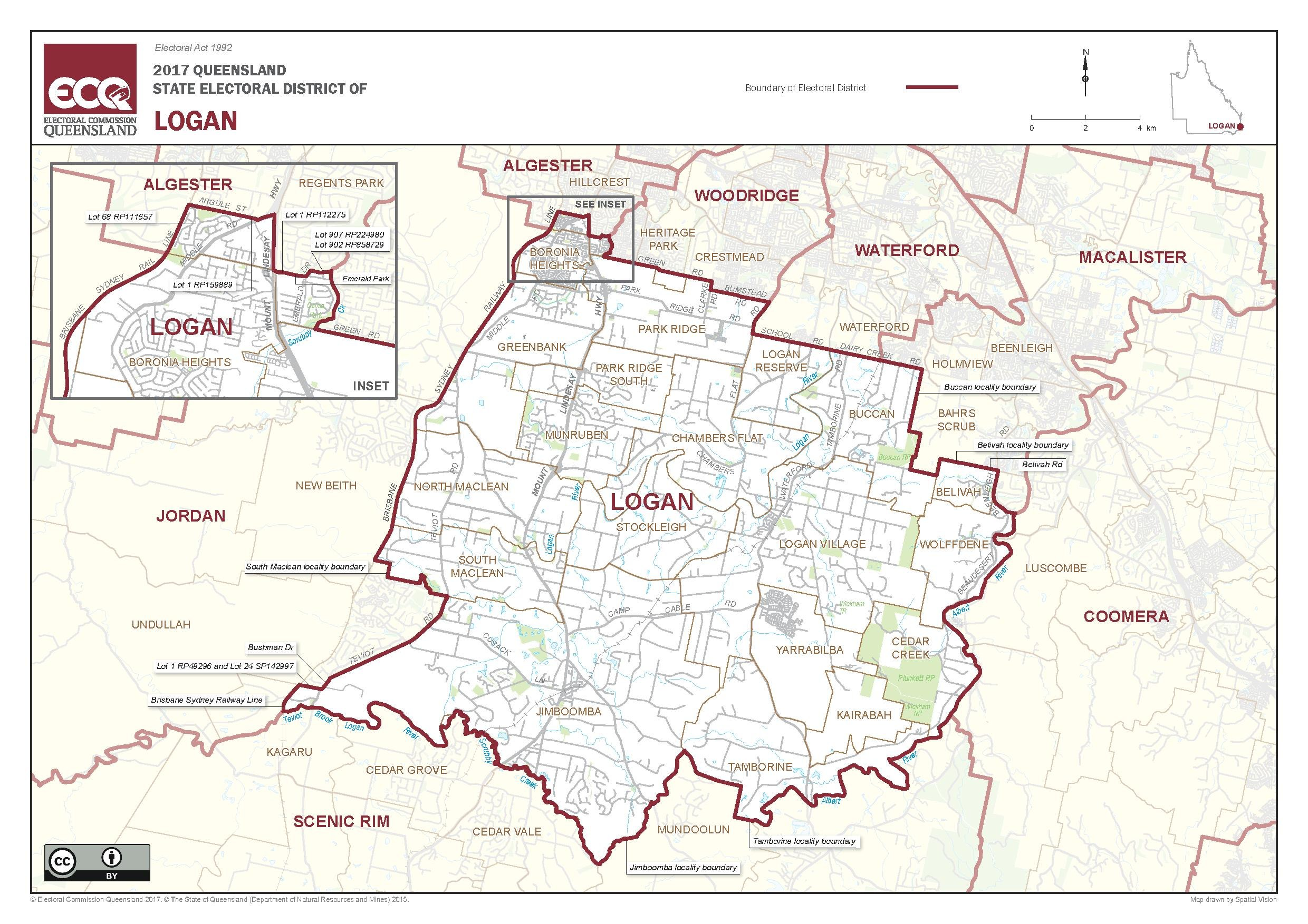 File Map of the electoral district of Logan 2017 pdf Wikimedia