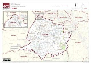 Electoral district of Logan state electoral district of Queensland, Australia