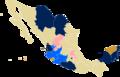 Mapa de México Matrimonio Homosexual 2016.png