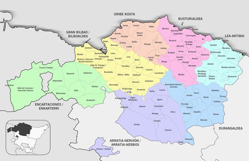 Mapa De Vizcaya Costa.Mapa De Vizcaya Mapa