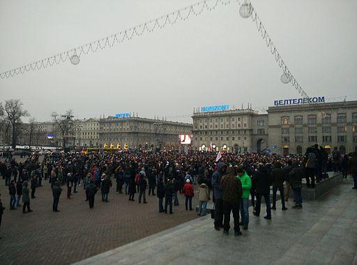 Marš aburanych bielarusaŭ, Miensk 02.17.2017
