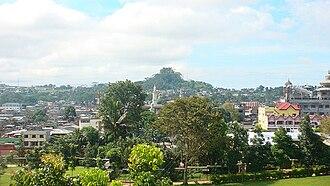 Marawi - Skyline of Marawi in 2008