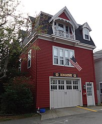 Marblehead Massachusetts firehouse Engine No 2