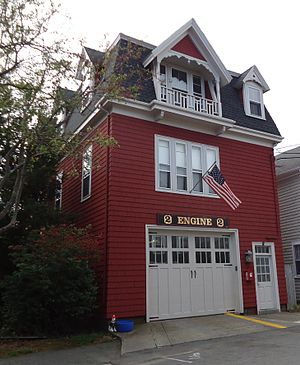 Fire station - Image: Marblehead Massachusetts firehouse Engine No 2