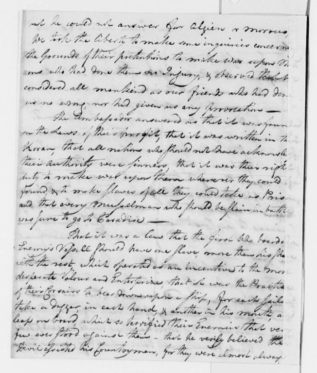 John Adams Letter To Thomas Jefferson  September
