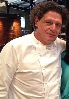 Marco Pierre White British chef and restaurateur