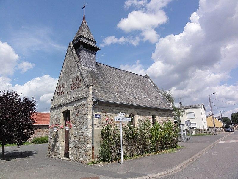 Marest-Dampcourt (Aisne) chapelle à Dampcourt