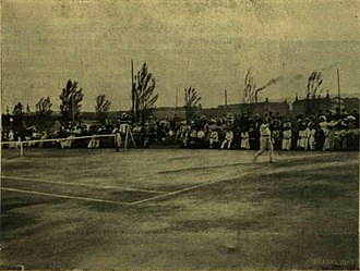 Hungarian Tennis Championships - Margitsziget Lawn Tennis Club, frequent host of the event in the early years