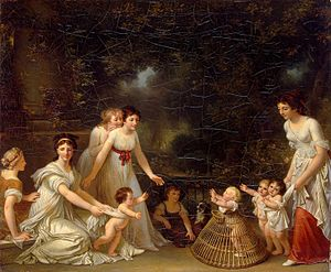 1788 in art - Image: Marguerite Gérard The first steps