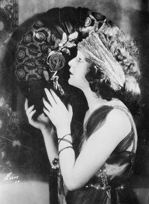 Marguerite De La Motte - De La Motte in 1921.