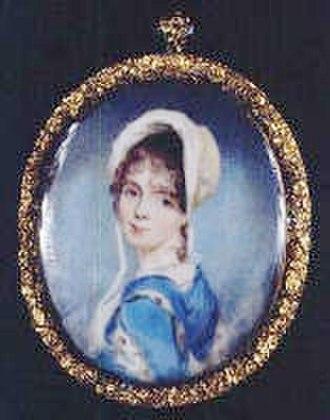 George Tucker (politician) - Maria Carter Tucker, miniature portrait by Sully ca. 1805