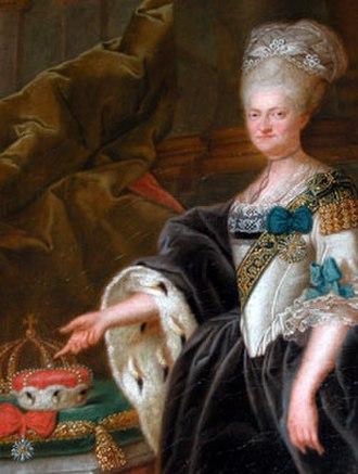 Maria Kunigunde of Saxony - Portrait of Maria Kunigunde by Heinrich Foelix