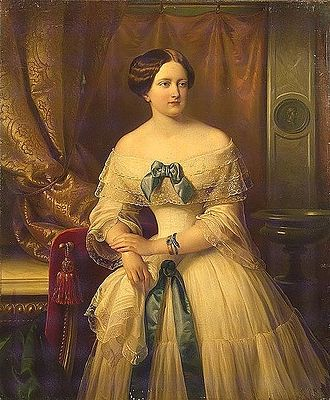 Grand Duchess Maria Mikhailovna of Russia - Maria Mikhailovna of Russia by K.F. Sohn, completed a year after her death