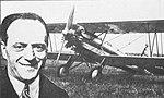 Mario de Bernardi, Caproni Ca.113 s motorem Walter Castor vítězí v Miláně (1931).jpg