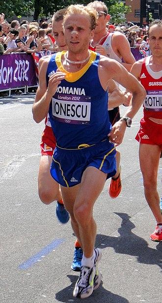Romania at the 2012 Summer Olympics - Marius Ionescu in men's marathon.