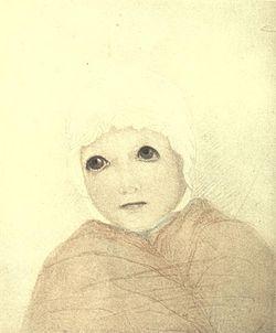 Marjorie flemming portrait