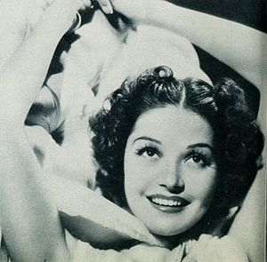 Marjorie Weaver - Weaver as she was pictured in Photoplay magazine's August 1938 issue.