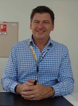 Mark Ferguson - Ferguson at the Hobbitcon III convention in Bonn, Germany on 6 April 2015
