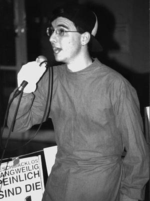 Mark Benecke - Mark Benecke as a member of the German punk Band Die Blonden Burschen in 1993