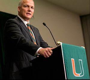 Mark Richt - Mark Richt Taking the Miami (FL) Job