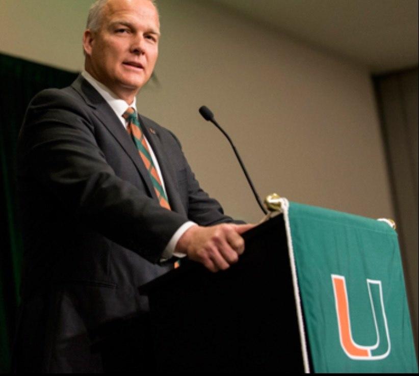 Mark Richt University of Miami