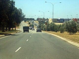 Marmion Avenue road in Perth, Western Australia