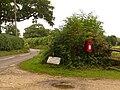 Marnhull, postbox No. DT10 46, Hains Lane - geograph.org.uk - 1406160.jpg