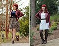 Maroon Leather Jacket from Forever 21 worn different ways (22830306467).jpg