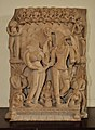 Marriage of Shiva and Parvati or Kalyan Sundaram - Circa 10th Century CE - Manasi Ganga - ACCN 87-8 - Government Museum - Mathura 2013-02-23 5294.JPG