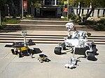 Mars Science Laboratory mockup comparison
