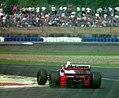 Martin Brundle - Mclaren MP4-9 at the 1994 British Grand Prix (32500406106).jpg