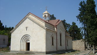 Khojavend (town) - Church of St. Nerses the Great in Martuni, opened in 2004