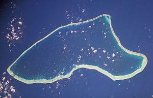 Marutea Nord - NASA picture of Marutea Nord Atoll