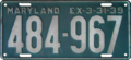 Maryland license plate, 1938–1939.png