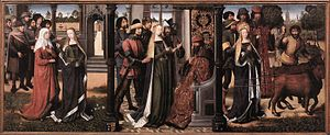 alt=Master of the Legend of Saint Lucy  (circa 1435-1506/1509)
