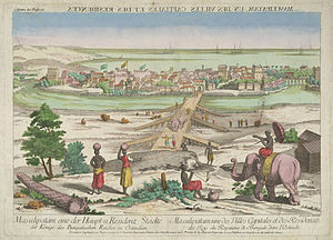 Machilipatnam - View of Masulipatnam in 1676