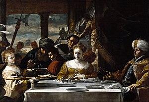 Herodias - Feast of Herod, Mattia Preti, c. 1660