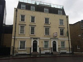 Embassy of Mauritania, London - Image: Mauritania Embassy in London 1